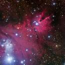 Merry Christmas Closeup (NGC 2264),                                Miles Zhou