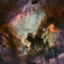NGC7000 and IC5070,                                Thorsten Glebe