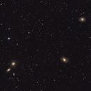 M96 Group of galaxies - M95, M96, M105 & NGC 3384,                                Dale Hollenbaugh