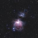 M42 & M43,                                John Blumert