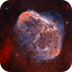 Crescent Nebula and Soap Bubble NGC6888,                                Wissam_Astrophoto...