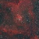 IC1805 Heart Nebula HaRGB,                                Michael Caller