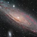 M31 Andromeda Galaxy,                                Crisan Sorin