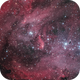 The Running Chicken Nebula  - Bi-Colour with RGB Stars,                                Terry Robison