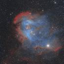 Running Chicken Nebula,                                Kevin Osborn