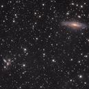 NGC7320 + Stephan's Quintet,                                Ola Skarpen SkyEyE