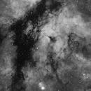 Sadr Region - Small part of IC1318 and BDN078 very dark nebula,                                Jocelyn Podmilsak
