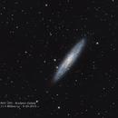 NGC 253 - Sculptor Galaxy - 9-20-2015,                                MRPryor