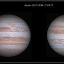 Jupiter & GMR 2012.10.06 UT. 03.25,                                Alessandro Bianconi