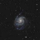 M101 - The Pinwheel galaxy,                                RononDex