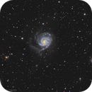 M101 - Pinwheel Galaxy - LRGB,                                Anis Abdul