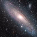 HaLRGB - M31 - Andromeda Galaxy,                                  Min Xie