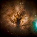 NGC2024 The Flame Nebula,                                KimKiDae
