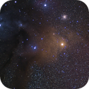 Antares and Rho Ophiuchus Widefield,                                seigell