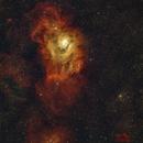Lagoon Nebula (SH2-25),                                Ivan Hancock