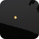Moon Rise Over the Blue Ridge Mountain, Harper's Ferry, WV.,                                Van H. McComas