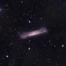 Hamburger Galaxy NGC3628,                                Seymore Stars