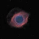 ngc7293 (Helix planetary nebula) HOO,                                *philippe Gilberton