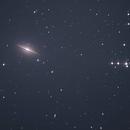 Galaxie du Sombrero M104,                                Dimitri UMBREHT
