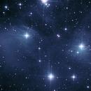 M 45 Pleïades,                                Maxou034