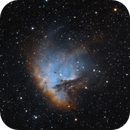 NGC 281 - Pac Man Nebula,                                Dale Hollenbaugh