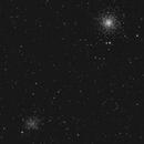 Globular Clusters M53 and NGC5053,                                Giorgio Ferrari