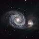 M51 Whirlpool Galaxy LRGB,                                Randal Healey