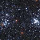NGC 869 and NGC 884 in LRGB 3 Panel Mosaic,                                Christopher Gomez