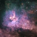 Maelstrom within the Carina Nebula,                                Bruce Rohrlach