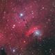 NGC6559 and IC1274 LRGB 2 Panel Mosaic,                                Christopher Gomez
