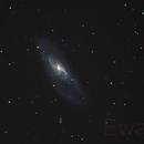 M106 - a galaxy with many friends,                                Ewam