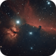 Horsehead & Flame Nebula,                                Laurence Pap