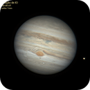 Jupiters moon - Io occultation (GIF),                                Carlos Alberto Palhares - OBSERVATÓRIO ZÊNITE