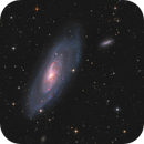 Zoom in -  M106 and Friends,                                Arnaud Peel