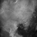 North America Nebula, NGC7000, H-alpha,                                Eric Coles (coles44)