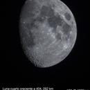 Moon at 404,092 km away,                                Andres Noriega