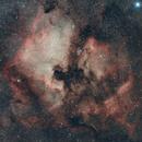 North America and Pelican Nebula,                                Tamas Kriska