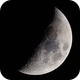 Near 1st Quarter Moon,                                astropical