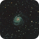 M101 - The Pinwheel Galaxy - Revisited,                                JDJ
