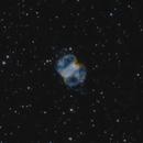 M76 - The Little Dumbbell Nebula - Bicolor,                                Andrea Alessandrelli