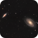 M81 & M82 - Bode's and Cigar Galaxies,                                lefty7283