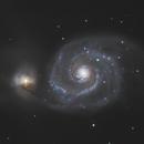 M51 Whirlpool Galaxy,                                Stefan