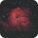 NGC 1893 with only 9 300 secs exposures,                                PeterCPC