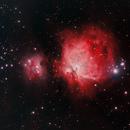 Orion Nebula Complex using HaRGB combination,                                JDJ