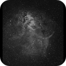 Lion Nebula SH2-132 Ha with RASA 8,                                Göran Nilsson