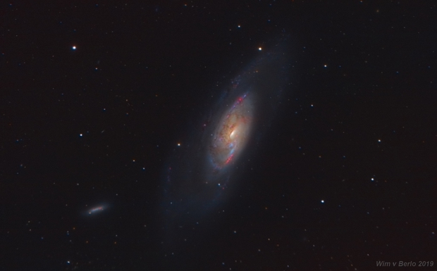 M106 LHaRGB,                                wimvb