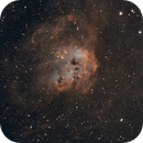 IC 410, The Tadpoles in BiColor,                                Madratter
