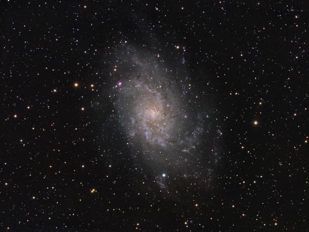M33 Triangulum galaxy,                                Lukasz Socha