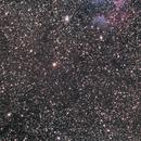 Gamma CAS nebula and Sailboat cluster,                                Janos Barabas