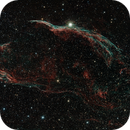 NGC 6960  Western Veil and Pickering's Triangle in OSC,                                Alan Brunelle